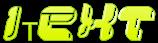 Font YUM YUM iText Logo Preview