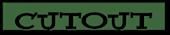 Font Yahoo! Cutout Logo Preview
