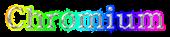 Font 顏楷體繁 Yan Kai Chromium Logo Preview