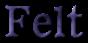 Font 顏楷體繁 Yan Kai Felt Logo Preview