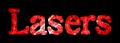 Font 顏楷體繁 Yan Kai Lasers Logo Preview
