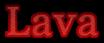 Font 顏楷體繁 Yan Kai Lava Logo Preview
