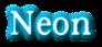Font 顏楷體繁 Yan Kai Neon Logo Preview