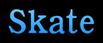 Font 顏楷體繁 Yan Kai Skate Logo Preview