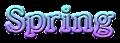 Font 顏楷體繁 Yan Kai Spring Logo Preview