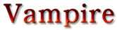 Font 顏楷體繁 Yan Kai Vampire Logo Preview