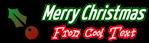 Font Yanone Kaffeesatz Christmas Symbol Logo Preview