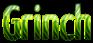 Font Yanone Kaffeesatz Grinch Logo Preview