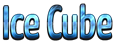 Font Yanone Kaffeesatz Ice Cube Logo Preview