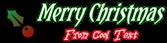 Font Yataghan Christmas Symbol Logo Preview