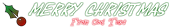 Font Year supply of fairy cakes Christmas Symbol Logo Preview