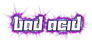 Font Yukarimobile Bad Acid Logo Preview