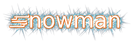 Font AddShade Snowman Logo Preview