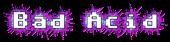 Font Adore64 Bad Acid Logo Preview