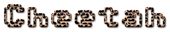 Font Adore64 Cheetah Logo Preview