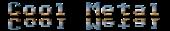Font Adore64 Cool Metal Logo Preview