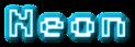 Font Adore64 Neon Logo Preview