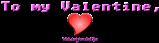Font Adore64 Valentine Symbol Logo Preview