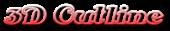 Font Antsy Pants 3D Outline Gradient Logo Preview