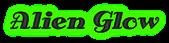 Font Antsy Pants Alien Glow Logo Preview
