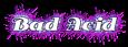Font Antsy Pants Bad Acid Logo Preview