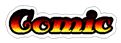 Font Antsy Pants Comic Logo Preview