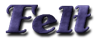 Font Antsy Pants Felt Logo Preview