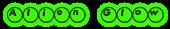 Font Ball Alien Glow Logo Preview