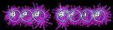 Font Ball Bad Acid Logo Preview