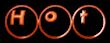 Font Ball Hot Logo Preview