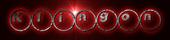 Font Ball Klingon Logo Preview