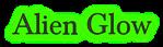 Font Baskerville Alien Glow Logo Preview