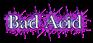 Font Baskerville Bad Acid Logo Preview