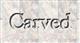 Font Baskerville Carved Logo Preview