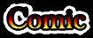 Font Baskerville Comic Logo Preview