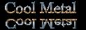 Font Baskerville Cool Metal Logo Preview