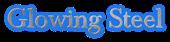 Font Baskerville Glowing Steel Logo Preview