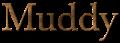 Font Baskerville Muddy Logo Preview