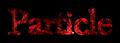 Font Baskerville Particle Logo Preview
