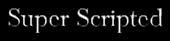 Font Baskerville Super Scripted Logo Preview