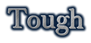 Font Baskerville Tough Logo Preview