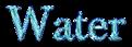 Font Baskerville Water Logo Preview