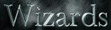 Font Baskerville Wizards Logo Preview