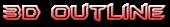 Font BatmanForeverAlternate 3D Outline Gradient Logo Preview