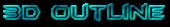 Font BatmanForeverAlternate 3D Outline Textured Logo Preview