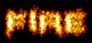 Font BatmanForeverAlternate Fire Logo Preview