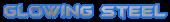 Font BatmanForeverAlternate Glowing Steel Logo Preview