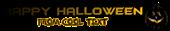 Font BatmanForeverAlternate Halloween Symbol Logo Preview