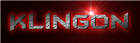 Font BatmanForeverAlternate Klingon Logo Preview