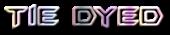 Font BatmanForeverAlternate Tie Dyed Logo Preview